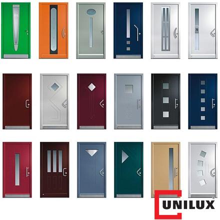 Türen als Hauseingangstür in Kunststoff, Holz sowie Aluminium, Unilux, Eberswalde, Barnim